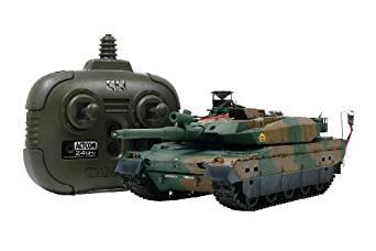 タミヤ 1/35 RC タンクバトルシリーズ No.13 陸上自衛隊 10式戦車 (2.4GHz プロポ付き) 48213 新品