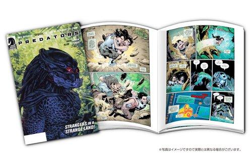 プレデターズ トリロジー ブルーレイBOX (初回生産限定) コミック付き [Blu-ray]新品 マルチレンズクリーナー付き