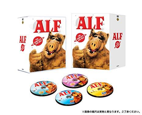 アルフ シーズン1-4 DVD全巻セット(24枚組)新品 マルチレンズクリーナー付き