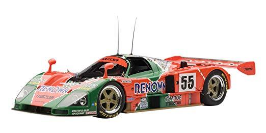 AUTOart 1/18 マツダ 787B (優勝トロフィー付属) '91 ル・マン優勝 #55 (バイドラー/ハーバート/ガショー) 完成品 新品