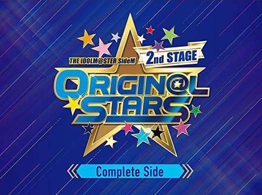 THE IDOLM@STER SideM 2nd STAGE ~ORIGIN@L STARS~ Live Blu-ray (Complete Side)新品 マルチレンズクリーナー付き