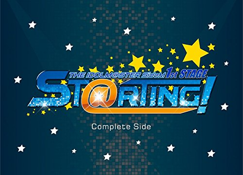 THE IDOLM@STER SideM 1st STAGE 〜ST@RTING!〜 Live Blu-ray [Complete Side] 新品 マルチレンズクリーナー付き