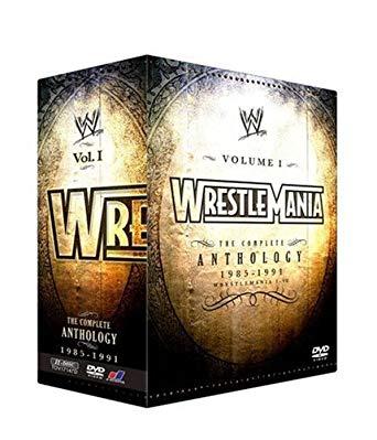 WWE レッスルマニア・アンソロジーBOX1 I-VII (3000セット限定) [DVD] 新品 マルチレンズクリーナー付き