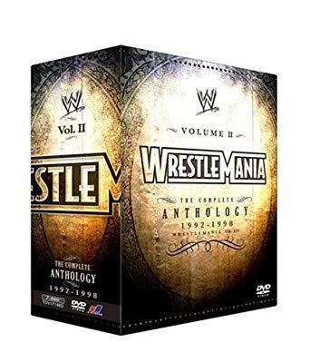 WWE レッスルマニア・アンソロジーBOX2 VIII-XIV (3000セット限定) [DVD](中古)マルチレンズクリーナー付き