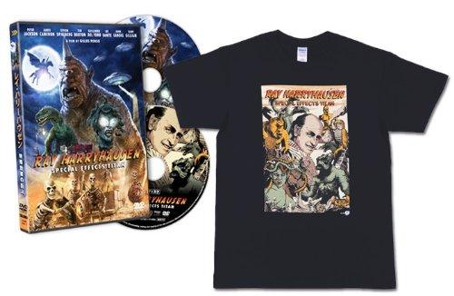 レイ・ハリーハウゼン 特殊効果の巨人 【初回限定盤Tシャツ付】 [DVD]新品 マルチレンズクリーナー付き