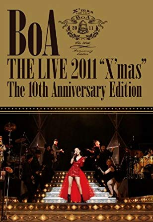 "BoA THE LIVE 2011""X'mas"" The 10 th Anniversary Edition [DVD]新品 マルチレンズクリーナー付き"