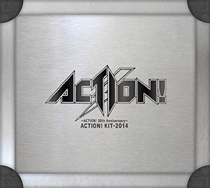 ~ACTION! 30th Anniversary~ACTION! KIT‐2014(DVD付)新品 マルチレンズクリーナー付き
