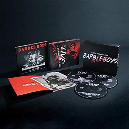 REAL BAND -1st OPTION 30th Anniversary Edition-(完全生産限定盤) BARBEE BOYS CD 新品 マルチレンズクリーナー付き