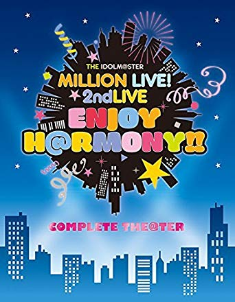 "【Amazon.co.jp限定】 THE IDOLM@STER MILLION LIVE 2ndLIVE! 2ndLIVE IDOLM@STER ENJOY H@RMONY!! H@RMONY!! LIVE Blu-ray""COMPLETE THE@TER"