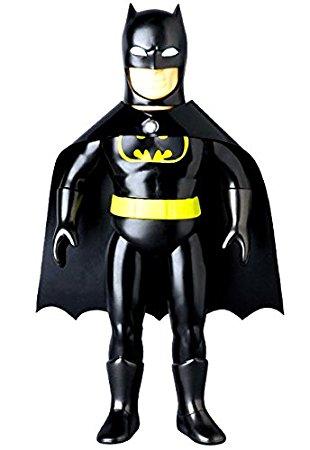 メディコムトイ×ベアモデル DCコミックヒーロー レトロソフビコレクション バッドマン(黒) 新品
