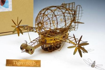 ジブリ美術館限定 「天空の城ラピュタ」タイガーモス 1/144 エッチングモデル 新品