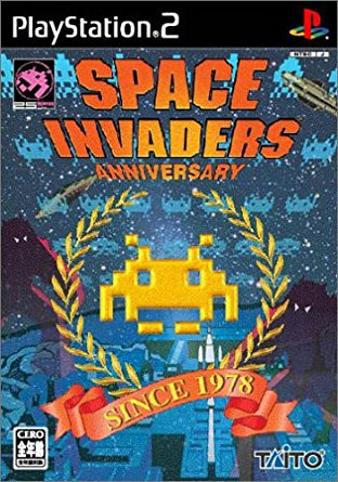 SPACE INVADERS - ANNIVERSARY - PlayStation2 新品