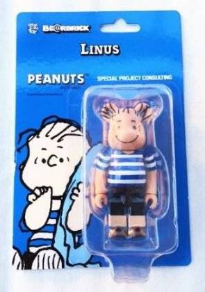 peanuts BE@RBRICK ベアブリック ライナス スヌーピー 新品