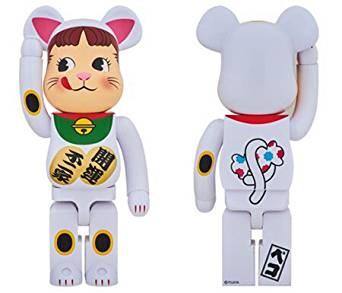 BE@RBRICK 招き猫ペコちゃん 1000% ペコちゃん 不二家 新品