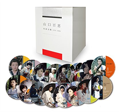 山口百恵 映画全集 1974-1980 Blu-ray BOX(完全数量限定) [Blu-ray] 新品