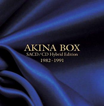 AKINA BOX(紙ジャケット&SACD/CDハイブリッド仕様) 中森明菜  CD 新品 マルチレンズクリーナー付き