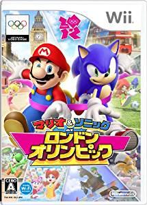 マリオ&ソニック AT ロンドンオリンピック Nintendo Wii 新品