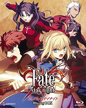 Fate/stay night Blu-ray BOX 期間限定生産(中古)マルチレンズクリーナー付き