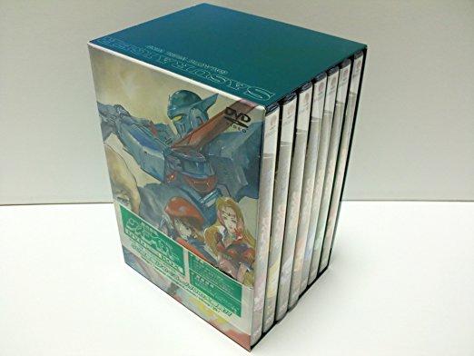 銀河疾風サスライガー DVD完全BOX マルチレンズクリーナー付き 新品