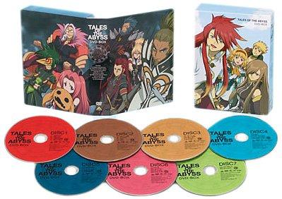 テイルズ オブ ジ アビス DVD-BOX (初回限定生産) 鈴木千尋マルチレンズクリーナー付き 新品