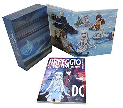 劇場版 蒼き鋼のアルペジオ -アルス・ノヴァ- DC <初回生産限定特装版BD> [Blu-ray] 興津和幸 新品 マルチレンズクリーナー付き