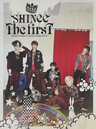 THE FIRST(初回生産限定盤)(DVD付) SHINee CD 新品 マルチレンズクリーナー付き