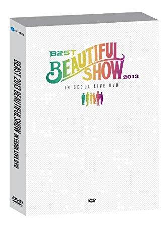 BEAST 2013 Beautiful Show in Seoul (2DVD + フォトブック) (韓国盤) DVD Audio 新品 マルチレンズクリーナー付き
