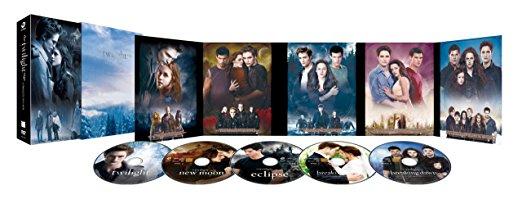 トワイライト・サーガ COMPLETE DVD-BOX 新品 マルチレンズクリーナー付き