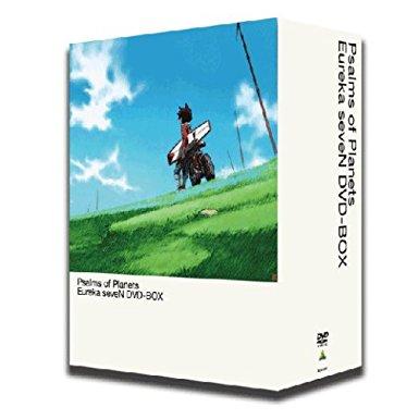 交響詩篇エウレカセブン DVD-BOX (初回限定生産) 三瓶由布子 新品 マルチレンズクリーナー付き