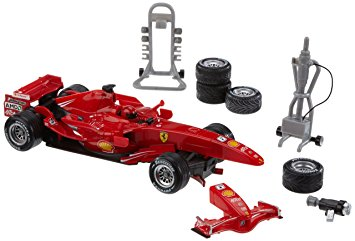 Hot Wheels Ferrari Grand Prix Pit Stop 新品
