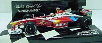 【MINICHAMPS/ミニチャンプス】 1/43 ウィリアムズF1 スーパーテック FW21 A ザナルディ 1999 新品
