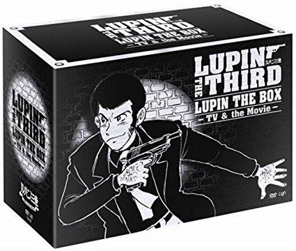LUPIN THE BOX -TV&the Movie- [DVD] 納谷悟朗 新品 マルチレンズクリーナー付き