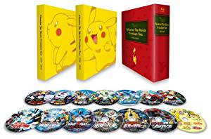 PIKACHU THE MOVIE PREMIUM BOX 1998-2010 [Blu-ray] 松本梨香 新品 マルチレンズクリーナー付き