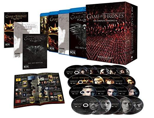 ゲーム・オブ・スローンズ 〈第一~四章〉 ブルーレイ ボックス (初回限定生産/20枚組) [Blu-ray] ピーター・ディンクレイジ 新品 マルチレンズクリーナー付き