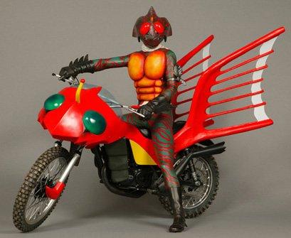 Rainbow Master Works 仮面ライダーアマゾン&ジャングラー号 メディコム・トイ 新品