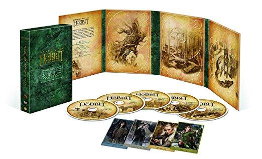 ホビット 竜に奪われた王国 エクステンデッド・エディション DVD版(初回限定生産/5枚組) 新品 マルチレンズクリーナー付き