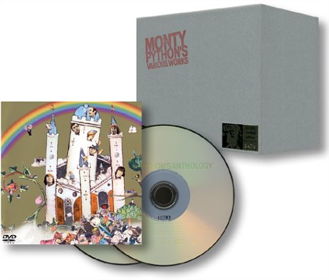 モンティ・パイソン・アンソロジー(BOX&Tシャツ付き限定盤) [DVD] 新品 マルチレンズクリーナー付き