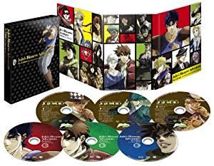 【限定】ジョジョの奇妙な冒険 総集編Blu-rayセット(描き下ろし収納BOX、オーディオコメンタリー付き) 新品 マルチレンズクリーナー付き
