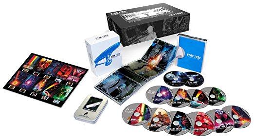 【限定】スター・トレック スターデイト・コレクション 豪華特典付きブルーレイBOX(500セット完全限定) [Blu-ray] 新品