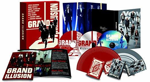 グランド・イリュージョン エクステンデッド・エディション プレミアムBOX(劇場公開版DVD1枚付き3枚組)(初回限定生産) [Blu-ray] 新品 マルチレンズクリーナー付き