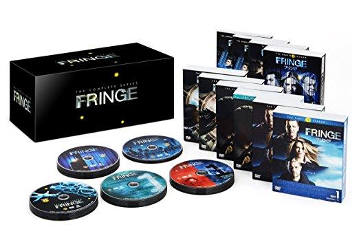 FRINGE/フリンジ 〈シーズン1-5〉 コンプリートDVD BOX Soft Shell(初回限定生産/50枚組) アナ・トーヴ 新品 マルチレンズクリーナー付き