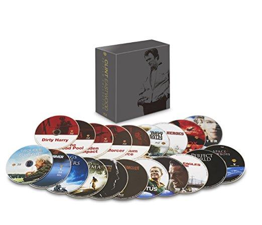 【数量限定生産】ワーナー・ブラザース90周年記念 クリント・イーストウッド 20フィルム・コレクション ブルーレイ [Blu-ray] 新品 マルチレンズクリーナー付き