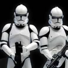 ARTFX+/ STAR WARS: 501部隊 クローントルーパー 2PK 壽屋