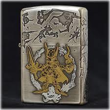 ZIPPO (牙狼) ガロ 魔界戦記 GARO MAKAISENKI ジッポーライター (絵本の黄金騎士Ver) ガロ 新品