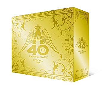 THE ALFEE 40th Anniversary スペシャルボックス [DVD] 新品 マルチレンズクリーナー付き