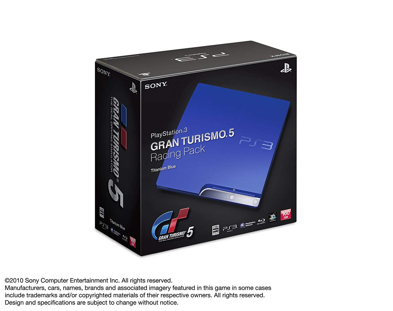 PlayStation3 GRAN TURISMO 5 RACING PACK(PS3専用ソフトウェア「グランツーリスモ5(初回生産版)」同梱)【メーカー生産終了】 新品