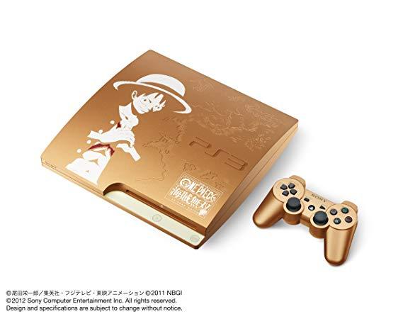 PlayStation 3 (320GB) ワンピース 海賊無双 GOLD EDITION (CEJH-10021)【メーカー生産終了】 新品