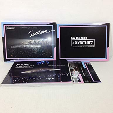 '17 JAPAN CONCERT Say the name #SEVENTEEN (1Blu-ray+PHOTO BOOK) 【Loppi・HMV限定盤】 新品 マルチレンズクリーナー付き