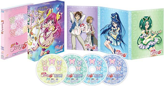 Yes!プリキュア5 Blu-rayBOX Vol.2 (完全初回生産限定) 新品 マルチレンズクリーナー付き