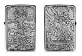 【アニメZIPPO】 コードギアス 反逆のルルーシュ Zippo B柄 スザク 新品